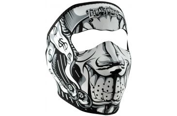 Zan Headgear Lethal Threat Neoprene Face Mask, Jester WNFMLT05