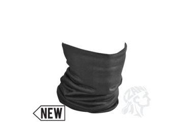 Zan Headgear Motley Tube, Fleece Lined, Solid Black TF114
