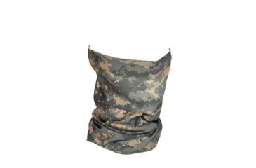 Zan Headgear Motley Tube, Polyester, U.S. Army, Digital ACU Camo T169
