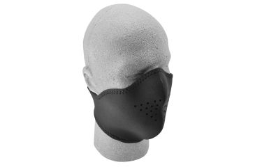 Zan Headgear Neo-X Face Mask Solid Black WNX114