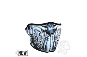 Zan Headgear Neoprene 1/2 Mask, BioMech WNFM074H