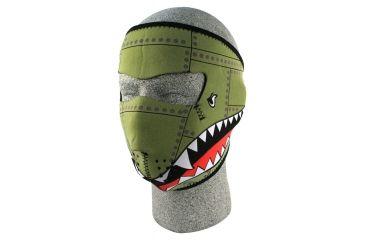 Zan Headgear Neoprene Face Mask Bomber WNFM010