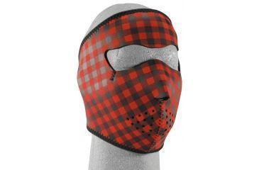 Zan Headgear Neoprene Face Mask, Buffalo Plaid WNFM068