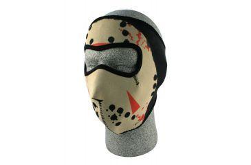 Zan Headgear Neoprene Face Mask Glow in the Dark Jason Mask WNFM213G