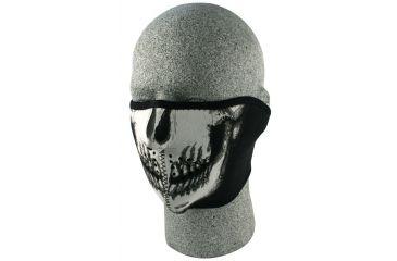 Zan Headgear Neoprene Half Face Mask Skull Face WNFM002H