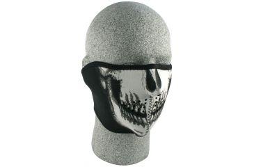 Zan Headgear Neoprene Half Masks - Oversized, Skull WNFMO002H
