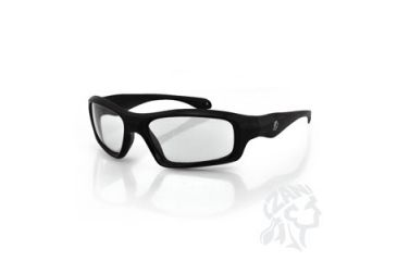 Zan Headgear Seattle Sunglass, Black Frame, Clear Lens EZSE001C