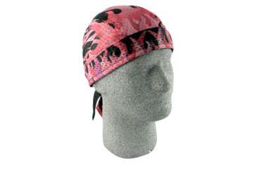Zan Headgear Vented Flydanna Pink Flames ZX533