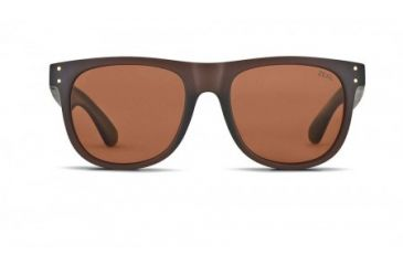 Zeal Optics Ace Sunglasses, Bombay Brown Frame and Polarized Copper Lens 10723