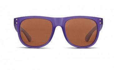 Zeal Optics Ace Sunglasses, Deep Purple Frame and Polarized Copper Lens 10725