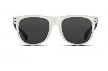 Zeal Optics Ace Sunglasses, Tuxedo Frame and Polarized Dark Grey Lens 10722