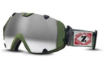 Zeal Optics Eclipse Ski Goggles, Surplus Fatigue Frame and Polarized Gunmetal Optimum Lens 10286