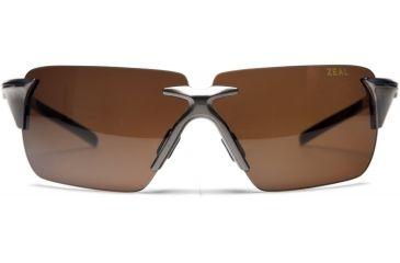 Zeal Optics EOS Sunglasses, Titanium Gloss Frame and Non-Polarized Copper Lens 10079