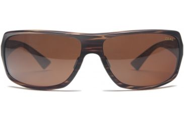 Zeal Optics Epic Sunglasses, Matte Wood Grain Frame and Polarized Copper Lens 10070
