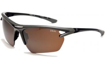 386fbb148576 Zeal Optics Equinox Sunglasses, Black Gloss Frame and Polarized Copper Lens  10056