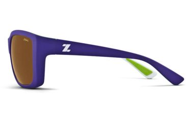 Zeal Optics Idyllwild Sunglasses - Lavender and Lime Frame,Polarized Copper Lens 10955