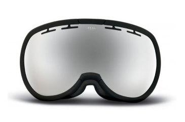 Zeal Optics Level Goggles, Black Tie, Metal Mirror Lens 10463