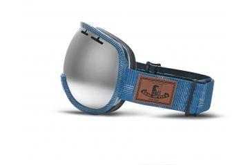 Zeal Optics Level Ski Goggles, MADE Denim Frame and Metal Mirror Optimum Lens 10270
