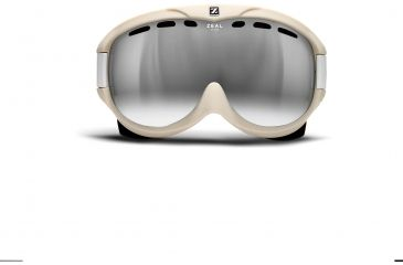 Zeal Optics Link Ski Goggles, Riveted Cloud Frame and Metal Mirror Optimum Lens 10250