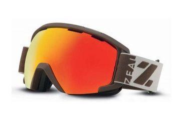 Zeal Optics Slate Goggles, Hayburner, Phoenix Mirror Lens 10467