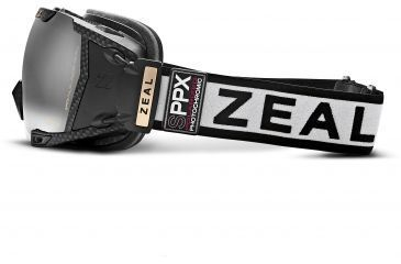 Zeal Optics Z3 GPS MOD LIVE Ski Goggles, Matte Black Frame and Polarized Automatic Optimum Lens 10298