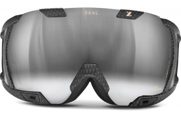 Zeal Optics Z3 GPS MOD Ski Goggles, Matte Black Frame and Polarized Automatic Optimum Lens Z3SPP