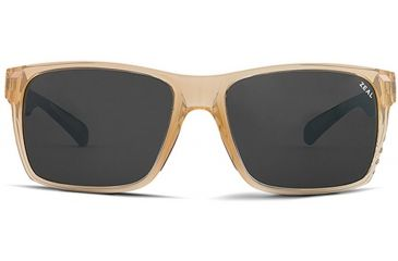 Zeal Optics Zeal Optics Brewer Sunglasses Brown Sugar Frame, Dark Grey Lenses, Polarized 10514