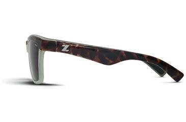 Zeal Optics Zeal Optics Kennedy Sunglasses Seafoam Tortoise Frame, Dark Grey Lenses, Polarized 10654