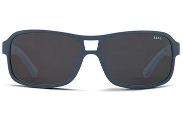 Zeal Optics Zeal Optics Tofino Sunglasses Blue Lilac Frame, Dark Grey Lenses, Polarized 10660
