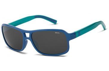 Zeal Optics Zeal Optics Tofino Sunglasses Mallard Blue Frame, Dark Grey Lenses, Polarized 10658