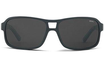 Zeal Optics Zeal Optics Tofino Sunglasses Matte Black Frame, Dark Grey Lenses, Polarized 10657
