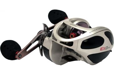 Zebco EXO Pt 200 Size, Right Hand BC Reel, 6.6 to 1 174756
