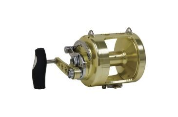 Zebco Santiago Lever Drag Trolling Reel, Mono 800 yds./20 lbs. Line Capacity, Braid 1040 yd, Size 25 175072