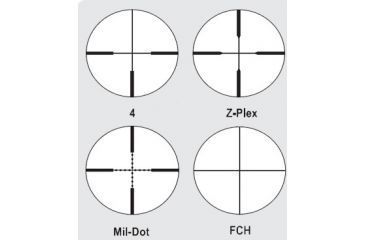 Zeiss Conquest 4.5-14x50AO MC Rifle Scope Matte Black Reticles