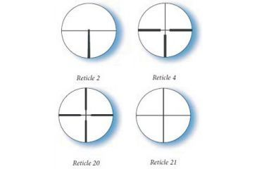 Available Reticles for Zeiss 4x32 Conquest Rifle Scope