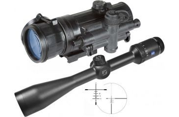 4-Zeiss Conquest HD5 2-10X42mm Rifle Scope
