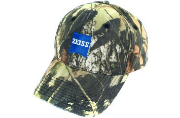 Zeiss Gear Hat With Blue Zeiss Logo, Mossy Oak Camo