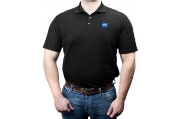 Zeiss Gear Polo Shirt, Black, Large
