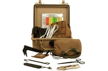 Zero Point Tactical Remote Pull Line Kit 100, Coyote Brown TRP-100-CB