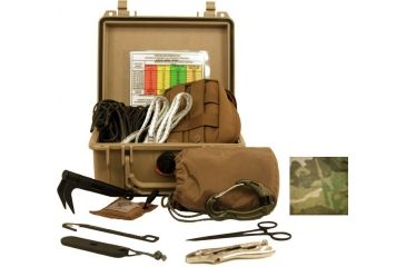 Zero Point Tactical Remote Pull Line Kit 100, MultiCam TRP-100-MC