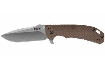 Zero Tolerance Rick Hinderer Folding Knife, 3.75in, Flat Dark Earth 0561