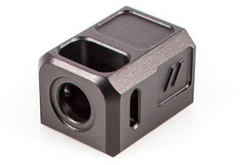 1-ZEV COMPPROB Pro Compensator Compatible With Glock 19 1/2x28 Tpi 7075 T6 Aluminu