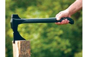 4-Zippo 4-in-1 Woodsman Axe w/ Saw Blade - 15in