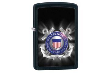 Zippo Coast Guard Black Matte Lighter 28745