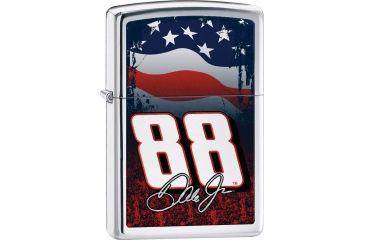 Zippo Dale Jr with Flag Lighter ZO24999