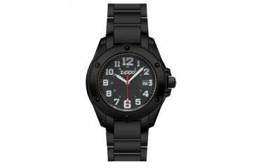 Zippo Dress Modern Style Watch, Black, Large 45014