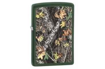 Zippo Mossy Oak Break-Up Classic Lighter, Green Matte 28332