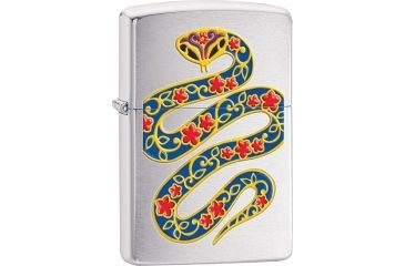 Zippo Year of the Snake Brushed Lighter ZO28456