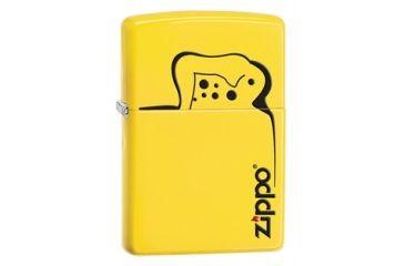 Zippo Lighter Outline Classic Style Lighter, Lemon 28062