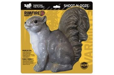 Zombie Industries Shoot-N-Ooze Rimfire 3-D Squirrel Target Case Of Six